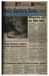 Daily Eastern News: January 27, 1995