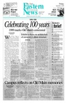 Daily Eastern News: September 03, 1999 by Eastern Illinois University