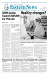 Daily Eastern News: August 24, 2001 by Eastern Illinois University