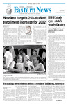 Daily Eastern News: August 27, 2001 by Eastern Illinois University