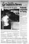 Daily Eastern News: August 29, 2001 by Eastern Illinois University