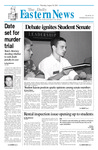 Daily Eastern News: August 30, 2001 by Eastern Illinois University