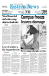 Daily Eastern News: January 08, 2001 by Eastern Illinois University