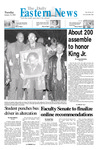 Daily Eastern News: January 16, 2001 by Eastern Illinois University