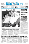 Daily Eastern News: January 30, 2001 by Eastern Illinois University