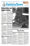 Daily Eastern News: July 03, 2002 by Eastern Illinois University