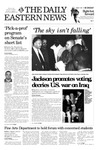 Daily Eastern News: October 07, 2002 by Eastern Illinois University