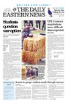 Daily Eastern News: October 11, 2002 by Eastern Illinois University