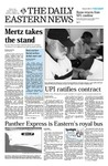 Daily Eastern News: February 25, 2003 by Eastern Illinois University