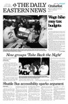 Daily Eastern News: October 03, 2003