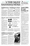 Daily Eastern News: October 31, 2003