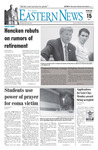 Daily Eastern News: September 15, 2004 by Eastern Illinois University
