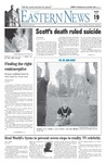 Daily Eastern News: April 19, 2005 by Eastern Illinois University