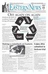 Daily Eastern News: January 11, 2006