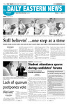 Daily Eastern News: April 02, 2007 by Eastern Illinois University