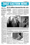 Daily Eastern News: April 13, 2007 by Eastern Illinois University