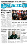 Daily Eastern News: April 18, 2007 by Eastern Illinois University
