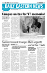 Daily Eastern News: April 25, 2007