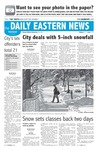 Daily Eastern News: February 15, 2007 by Eastern Illinois University
