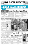 Daily Eastern News: February 23, 2007 by Eastern Illinois University