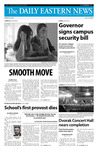 Daily Eastern News: August 25, 2008 by Eastern Illinois University