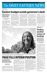 Daily Eastern News: August 26, 2008 by Eastern Illinois University