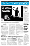 Daily Eastern News: September 23, 2008 by Eastern Illinois University
