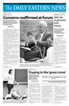 Daily Eastern News: September 25, 2008 by Eastern Illinois University