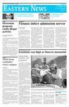 Daily Eastern News: December 07, 2009 by Eastern Illinois University