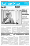 Daily Eastern News: December 08, 2009 by Eastern Illinois University