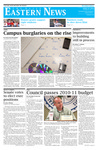 Daily Eastern News: April 21, 2010 by Eastern Illinois University