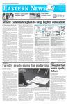 Daily Eastern News: November 02, 2010 by Eastern Illinois University