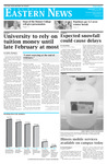 Daily Eastern News: January 11, 2011 by Eastern Illinois University