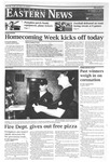 Daily Eastern News: October 17, 2011 by Eastern Illinois University