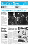 Daily Eastern News: October 28, 2011 by Eastern Illinois University