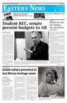 Daily Eastern News: March 02, 2012 by Eastern Illinois University