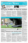 Daily Eastern News: March 23, 2012 by Eastern Illinois University