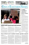 Daily Eastern News: April 17, 2014 by Eastern Illinois University