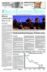 Daily Eastern News: December 11, 2014 by Eastern Illinois University