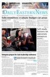 Daily Eastern News: Feburary 10, 2014 by Eastern Illinois University