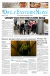 Daily Eastern News: January 13, 2014 by Eastern Illinois University