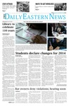 Daily Eastern News: January 15, 2014 by Eastern Illinois University