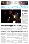 Daily Eastern News: January 21, 2014 by Eastern Illinois University