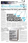Daily Eastern News: January 23, 2014 by Eastern Illinois University