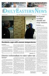 Daily Eastern News: January 24, 2014 by Eastern Illinois University
