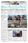Daily Eastern News: January 27, 2014 by Eastern Illinois University