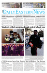 Daily Eastern News: March 17, 2014 by Eastern Illinois University