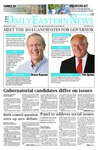 Daily Eastern News: November 03, 2014 by Eastern Illinois University
