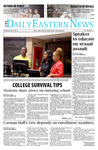 Daily Eastern News: September 03, 2014