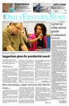 Daily Eastern News: September 10, 2014 by Eastern Illinois University